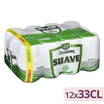 Steinburg Cerveza rubia suave Lata pack 12 x 330 ml - 3960 ml