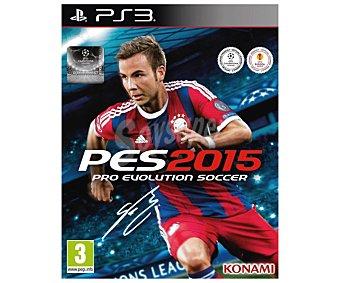 KONAMI PES 2015 PS3 1u