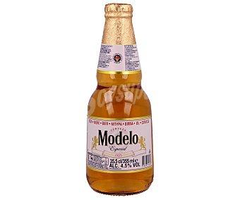 MODELO Cerveza rubia mexicana Botella de 33,5 centilitros