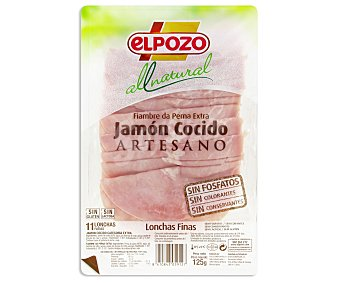 ElPozo Jamón Cocido All Natural 125g