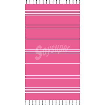 CASACTUAL Adriana Toalla de playa pareo en color rosa