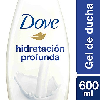 DOVE Gel de baño nutritivo hidratación profunda Frasco de 600 ml