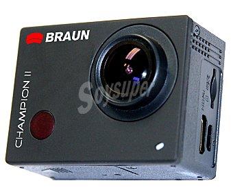 BRAUN CHAMPION II Videocámara deportiva HD 1 Unidad