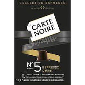Carte Noire Café Nº5 Delicat Caja 10 monodosis