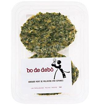 Bo de Debò Burguer pollo espinaca 180 G