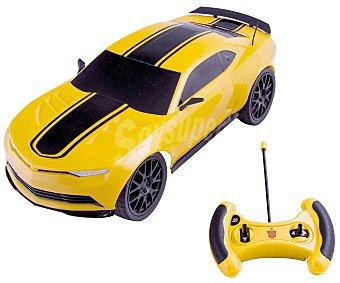 Transformers Coche Radiocontrol de Bumblebee, con el Diseño del Auténtico Camaro de la Película IMC 1 Unidad