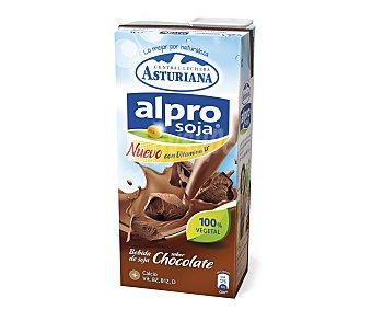 Alpro Asturiana Bebida de soja sabor chocolate Brik 1 l