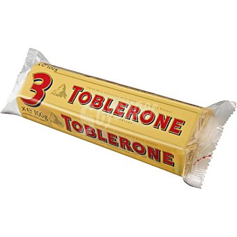 Toblerone Leche estuche tableta 300 g Pack 3x100g