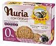 Nuria galletas de desayuno con ciruelas 0% azúcares  estuche 410 g Birba