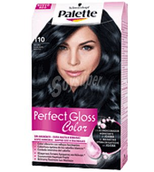 Palette Tinte Perfect Gloss Color 110 Negro Azulado 1 ud