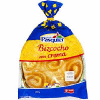 Pasquier Bizcocho relleno de crema Paquete 480 g
