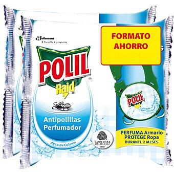 Polil Raid Antipolillas colgador con olor a colonia Paquete 4 unidades