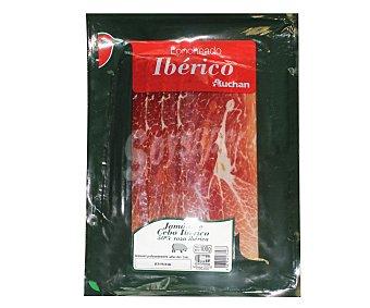 Auchan Jamón de cebo ibérico en lonchas 100 gramos