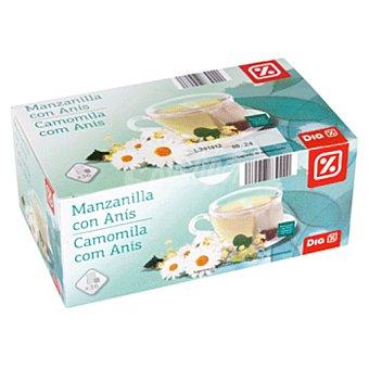 DIA Manzanilla con anis estuche 36 bolsitas