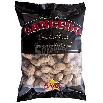 GANCEDO cacahuetes con cáscara elavoración tradicional  envase 300 g