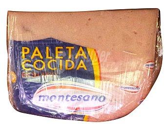 Montesano Jamon cocido paleta a lonchas Unidad 50 g