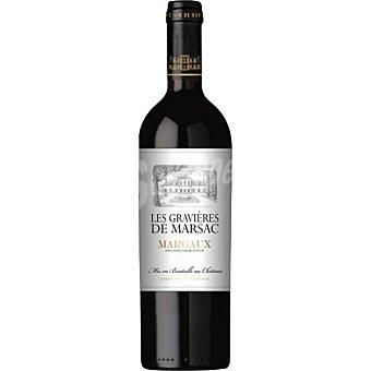 LES GRAVIERES DE MARSAC Vino tinto Margaux de Francia Botella 75 cl