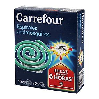 Carrefour Insecticida espirales antimosquitos 10 ud
