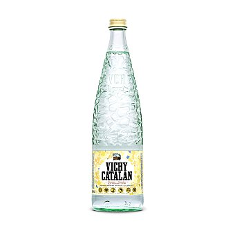Vichy Catalán Agua mineral con gas Botella 1 litro