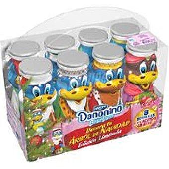 Danonino Danone Danonino Navidad Beber Fresa pack-8