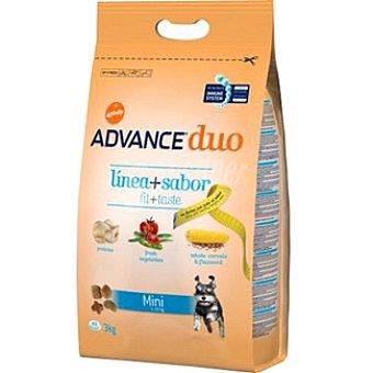 Advance Affinity Mini alimento de alta gama para perro adulto de raza mini con pollo y verduras Duo Línea+sabor Bolsa 3 kg