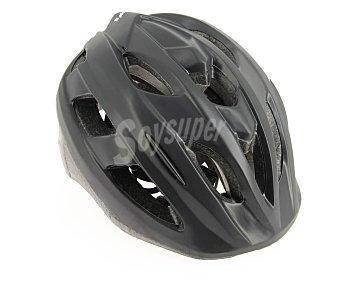 CUP´S Casco de ciclismo para adulto, talla M, mediana (54-58 centímetros) modelo Top, color negro, cup's