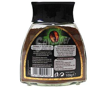 AUCHAN Café soluble espresso 100 gramos