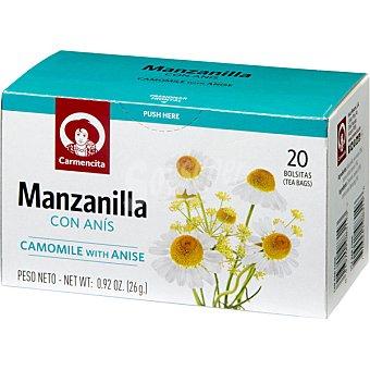 Carmencita Manzanilla con anís estuche 25 unidades Estuche 25 unidades