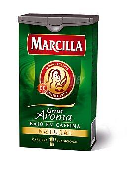Marcilla Café Molido Natural Bajo en Cafeína Gran Aroma
