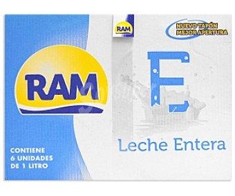 Ram Leche entera 6x1L