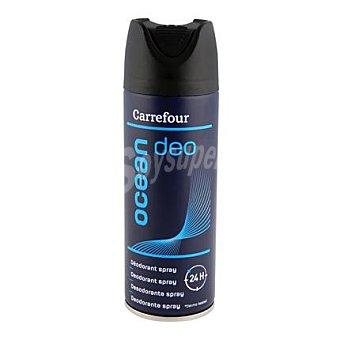 Carrefour Desodorante Ocean 24h spray para hombre 200 ml