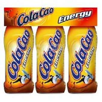 COLA CAO Energy Batido de cacao pack 3x188ml