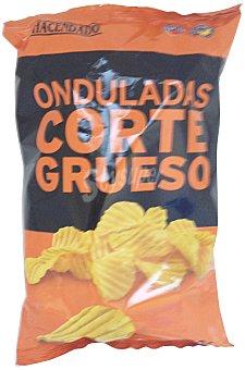 HACENDADO Patatas fritas onduladas corte grueso PAQUETE 150 g