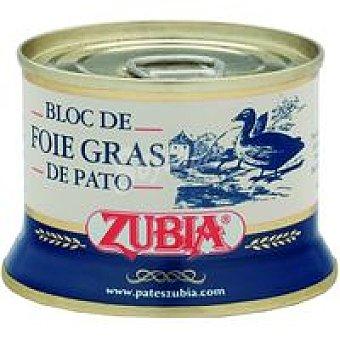 Zubia Bloc de Foie de pato Lata 130 g