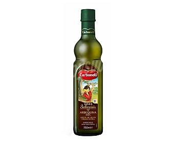 Carbonell Aceite de oliva virgen extra Arbequina Botella de cristal de 750 ml