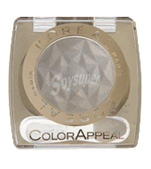 L'Oréal Sombra de ojos color appeal mono 12 blanc dore 1 sombra de ojos