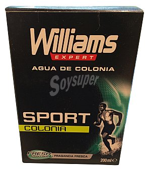 Williams Eau toilette hombre sport Botella 200 cc