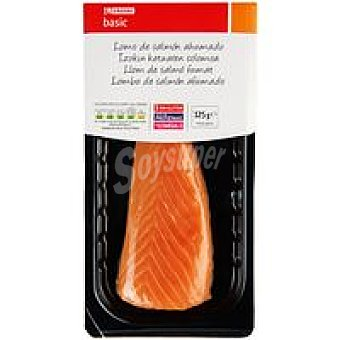 Eroski Basic Lomo de salmón ahumado Sobre 125 g