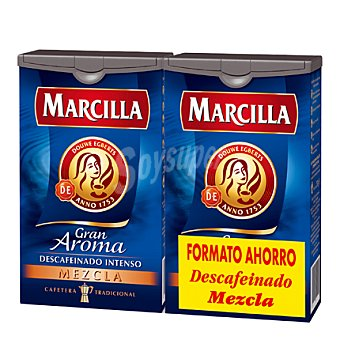 Marcilla Café descafeinado mezcla Gran Aroma