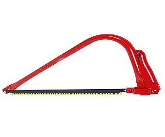 Auchan Sierra de arco de acero con 3 tipos diferentes de dientes y capacidad de serrado de 50 milímetros 1 unidad