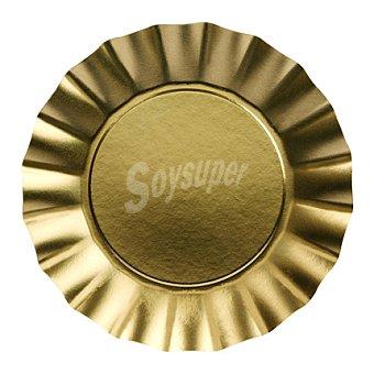 6 Platos desechables Ø 29cm Gold 6 ud