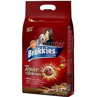 Brekkies Dog Tender & Delicious Buey 3 Kg
