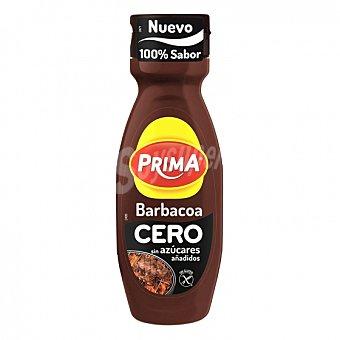 Prima Salsa barbacoa cero sin gluten Envase 325 g