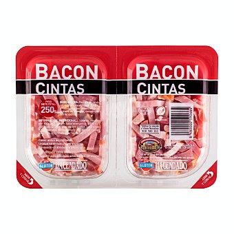 Hacendado Bacon taquitos Pack 2 x 125 g - 250 g