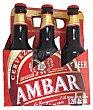 Cerveza sin gluten Botellin pack 6 x 330 cc - 1980 cc Ambar