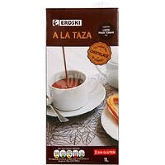 Eroski Chocolate a la taza Brik 1 litro