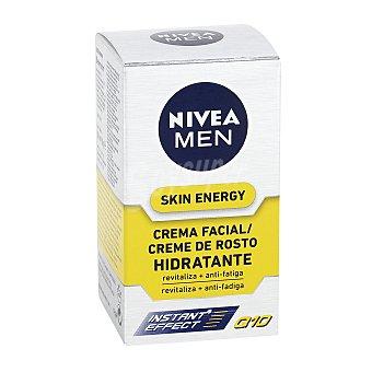 Nivea For Men Crema hidratante Q 10 revitalizante skin energy Frasco 50 ml