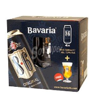 Bavaria Cerveza 4 latas de 50 cl