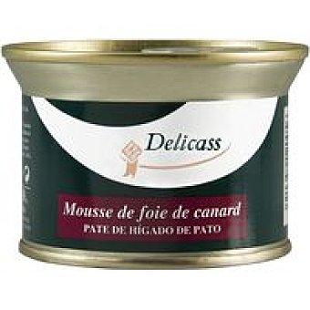 Delicass Mousse de foie de canard lata 130 g