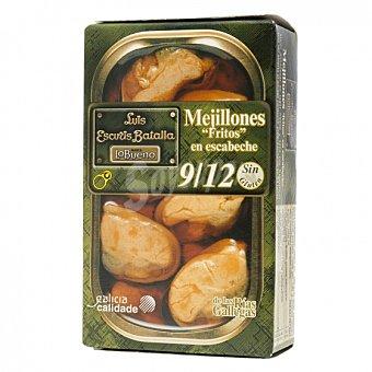 Lobueno Mejillones fritos en escabeche sin gluten 72 G 72 g